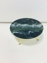 Vintage 1960's IDEAL Petite Princess Doll House Living Room Marble Round... - $12.19