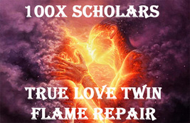 100X 7 HIGH SCHOLARS TRUE LOVE TWIN FLAME REPAIR EXTREME MAGICK RING PEN... - $49.89