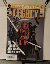 Star Wars Legacy #1 june 2006 newstand edition - $25.77