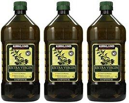 Kirkland Signature, Extra Virgin Olive Oil, 3 Units (2 QT 3.6 FL OZ) - $98.95