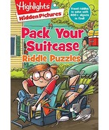 Pack Your Suitcase Riddle Puzzles (Highlights Hidden Pictures Riddle Puz... - $4.95
