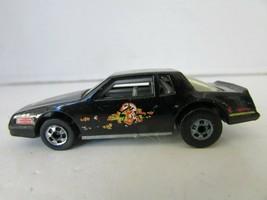 MATTEL HOT WHEELS DIECAST CAR 1988 CHEVY 350 BLACK STOCK CAR  #3 GRAPHIC... - $5.83