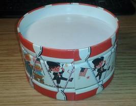 """Vintage Chein 6"""" Children's Metal Toy Drum Patriotic USA 1776 Theme Very... - $15.95"""
