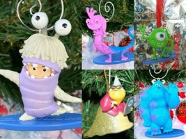 U Pick Disney Monsters Inc Christmas Tree Ornament Pixar Boo Sully Roz M... - $7.88