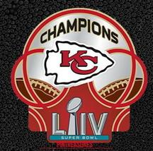 Kansas City Chiefs Pins Super Bowl LIV 54 Champions NFL Collector Footba... - $9.99