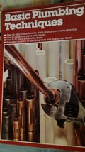 Ortho Books Basic Plumbing Techniques Softcover 1982 Vintage How To Guide  - $2.00