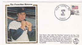 TOM SEAVER THE FRANCHISE RETURNS EVENT COVER - $1.78