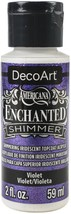 Americana Enchanted Shimmer Paint 2oz-Violet - $8.65