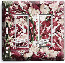 Estella Tulips Victorian Pattern 2 Gfci Light Switch Wall Plate Cover Room Decor - $11.69