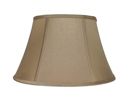 "Urbanest Bell Lamp Shade, Faux Silk, 8x12x8"" - $39.99"