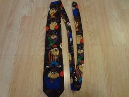 Men's Taz Tazmanian Devil Vintage 1993 Tie Looney Tunes Mania Warner Bros - $9.49