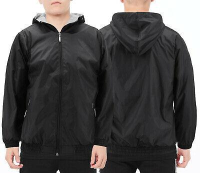Boys Junior Hooded Zipper Pockets Fleece Lined Polar Windbreaker Kids Jacket