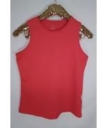 Women's Nike Sphere Dry sleeveless orange tank top size M - $1.91