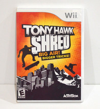 TONY HAWK Shred Video Game (Nintendo Wii, 2010) Complete with Booklet, p... - $9.99