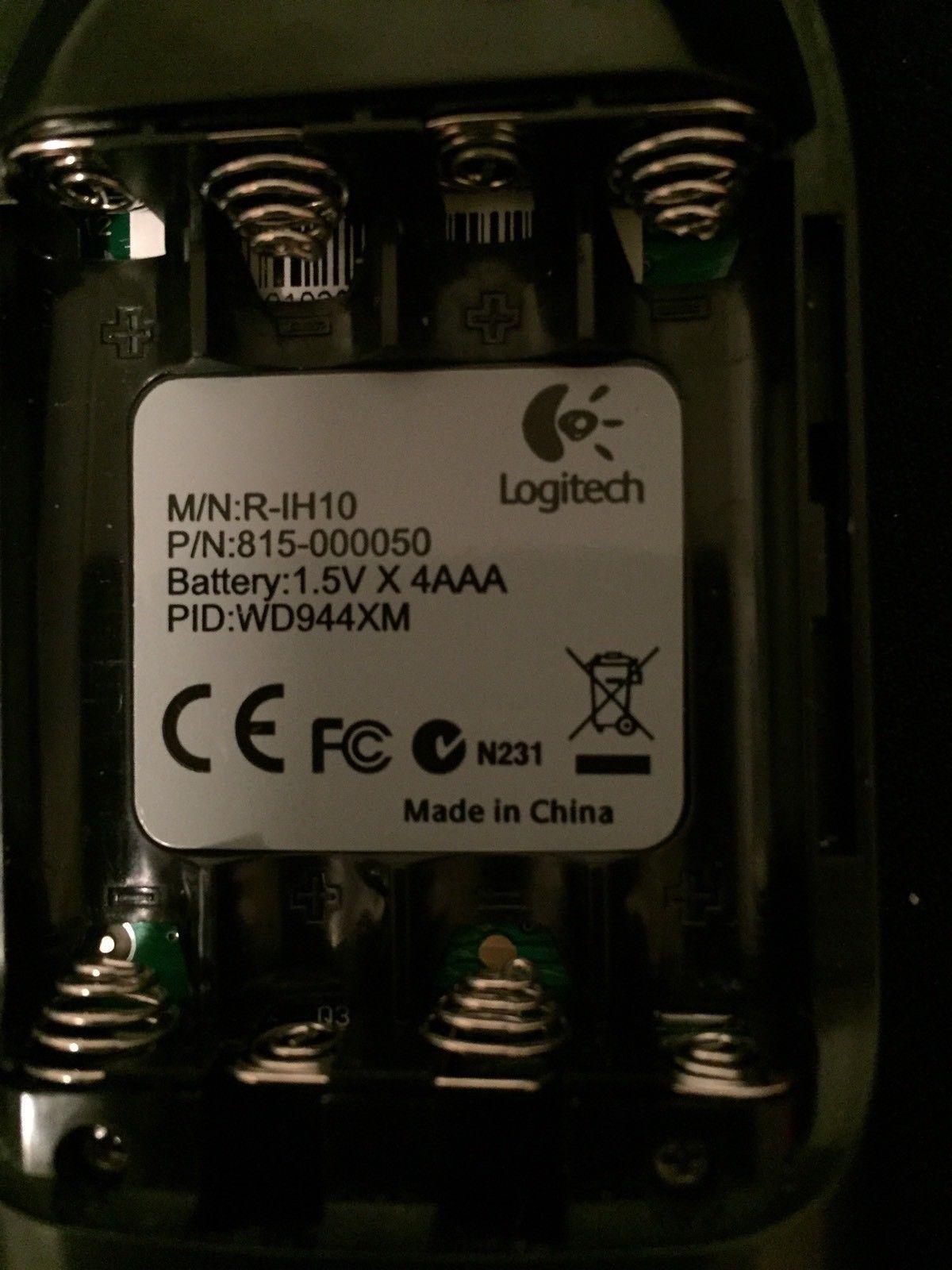 Logitech HARMONY 510 Advanced Universal Remote Control