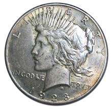 1928 Peace Silver Dollar Coin -  Lot # MZ 3032