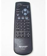 Genuine Sharp TV VCR CATV G1128CESA Remote Control Works Tested - $9.76
