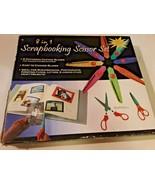 Scrapbooking scissors set 8 in 1  - $14.84