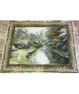 House in the meadow Tapestry - Thomas Kinkade ? - $61.75