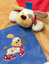 Taggies Buddy Puppy Dog Security Baby Blanket Mary Meyers Signature Lovey 13x13 - $24.95
