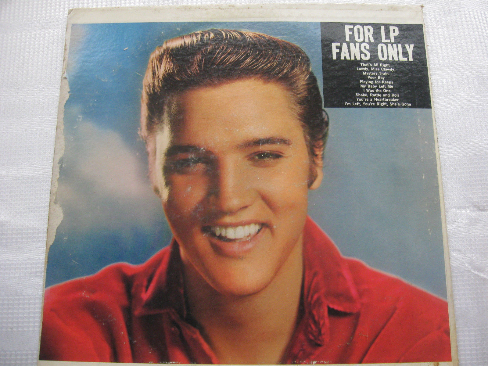 Elvis Presley For LP Fans Only RCA LSP-1990e Stereo Vinyl Record LP RARE Version image 2