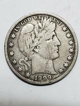 1909 Barber Half Dollar 50¢ Silver Coin 319-26