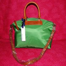 Dooney & Bourke Nylon Green Satchel Handbag NWT image 10