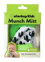 Munch Mitt the Original Mom Invented Teething Toy and 3 in 1 Buddy Bib- Self-... image 5