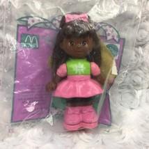 McDonalds Mattel Sally Secrets Paper Punch Doll w Stickers Holiday Seale... - $8.59