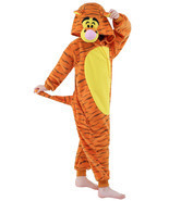 Children onesie halloween costume Unisex kids jumpsuits jumper tiger pajama - $40.11 CAD