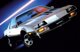 1983 CHEVROLET CAMARO Z28 POSTER | 24 x 36 INCH | muscle car | silver - $18.99