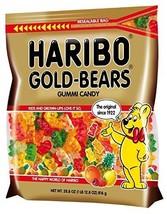 Haribo Gold Bears Resealable Gummies Bag, 28.8 oz - $14.84