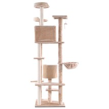 "New 80"" Cat Tree Condo Furniture Scratch Post Pet House - £73.94 GBP"