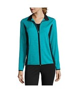 Made for Life Mesh Jacket Tall New Size ST Msrp $40.00 Tile Blue Melange - $21.99