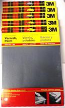 "3M 9086NA 9"" x 11"" WetorDry Silicon Carbide Sandpaper 320G Sandpaper (5)... - $6.19"