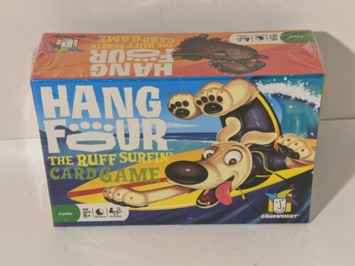 Primary image for Hang Four The Ruff Surfin' Card Game 2008 Game Wright 8+  NEW