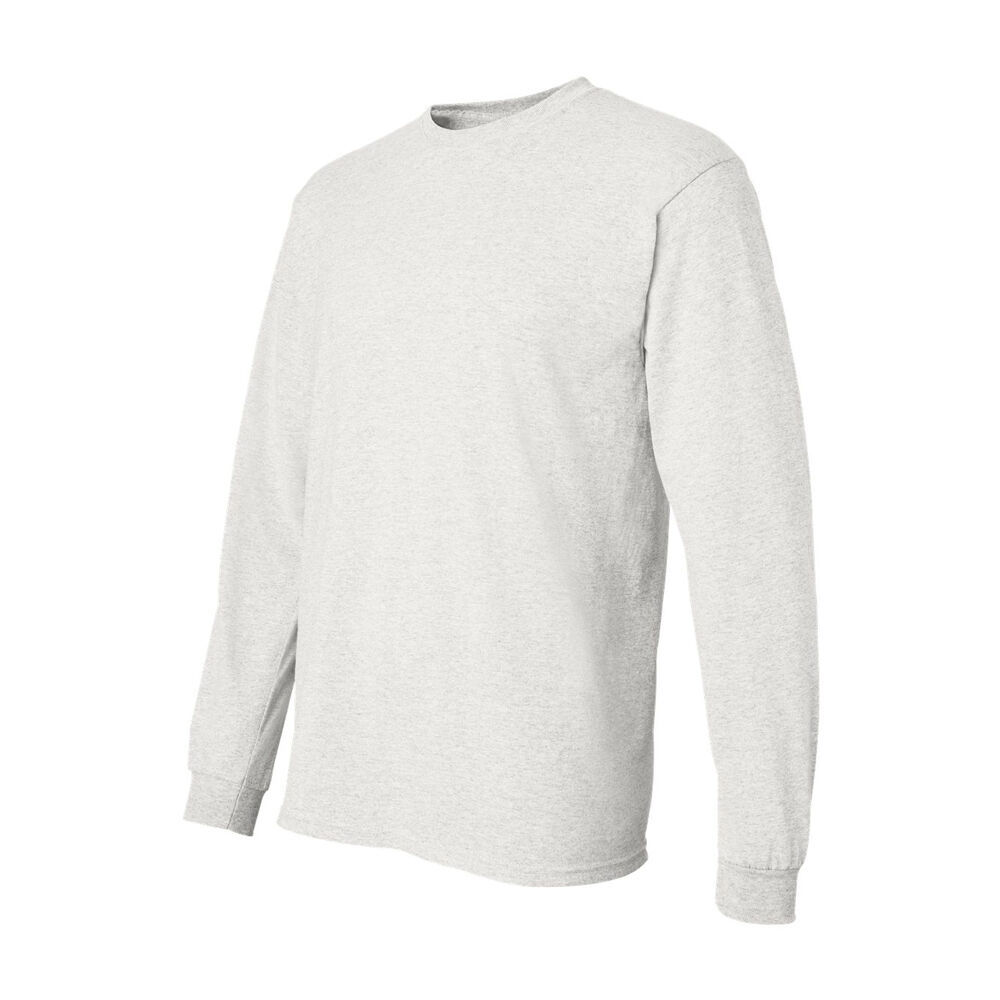 Gildan Mens DryBlend 50//50 Long Sleeve T Shirt S M L XL 2XL 3XL 8400