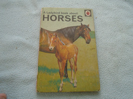 Vintage 1968 Ladybird Book About Horses Series 682 - $8.96