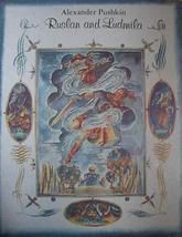 RUSLAN AND LUDMILA: A Poem [Hardcover] Pushkin, Alexander and Nikolai Do... - $9.86