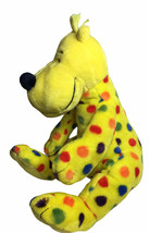 Kohl's Cares Plush Dog Dr. Seuss Put Me In The Zoo Yellow Spotted Polka ... - $16.78