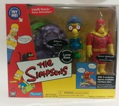 Simpsons WOS Set Radioactive Man Fallout Boy Lunar Base Moonscape Collec... - $29.70