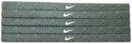 Nike Unisex Running All Sports GREEN DOTS Sports Design Headband New - $6.50