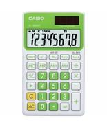 Casio - SL-300VC - Pocket Calculator, 8 Digit Display - Baby Leaf Green - $12.82