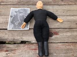 "Rare Original Vintage 1950's Ideal HOPALONG CASSIDY 21"" Doll w Black White Photo - $99.00"