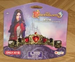 Disney Descendants 3 Evie Tiara Cuore Ingioiellato Corona Costume Halloween - $20.99