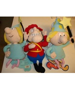 DUDLEY DO-RIGHT & 2 FRACTURED FAIRY ~ Stuffed Toys ! - $15.15