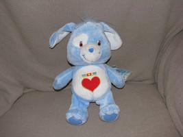 """10"""" CAREBEAR CARE BEAR COUSIN LOYAL HEART DOG STUFFED PLUSH DOLL TOY NAN... - $15.83"""