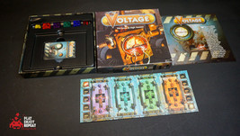 SIGNED BY DESIGNER Voltage English first edition 2006 Mattel Board Game - $62.36