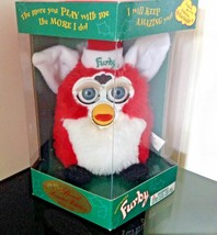 FURBY Santa Special Edition Rare 70-800 Red with White Belly 1999 Tiger New - $56.84