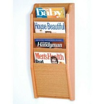 Soporte de Pared Cascade Revista Estante Literatura Folleto Pantalla Pha... - $66.27+